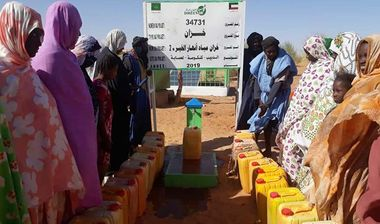 Directaid Water Projects 2 - Anhar Al-Khair  Water Tank 1