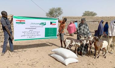 Directaid مشاريع التنمية Al-Maawn Project - Raising Goats - 2 1