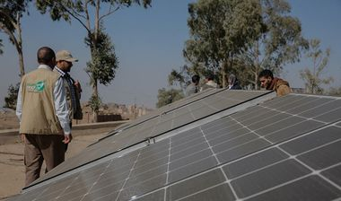 Directaid  Operating a Solar Health Clinic - Yemen 1