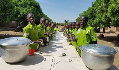 Directaid  School Meals in Gambia 1