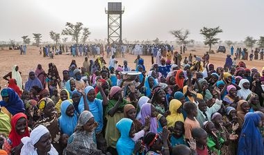 Directaid مشاريع المياه Spring Well-Niger - 95 1