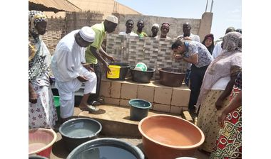 Directaid Water Projects Al-Tareq Well 5