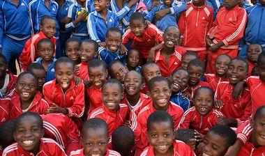 Directaid  Orphanage Playground in Sinigal 1
