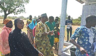Directaid مشاريع المياه Al-Mahaba Well -8 13