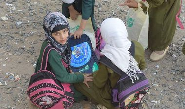 Directaid المشاريع التعليمية School bag 1