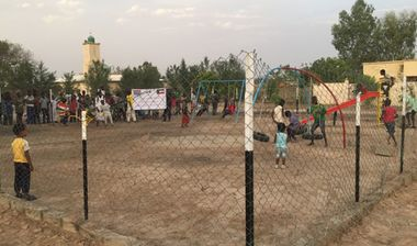 Directaid development Playgrounds for Gambia's orphans 15
