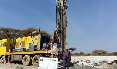 Directaid Water Projects Large Artesian Well - Kenya -Grepettla 1