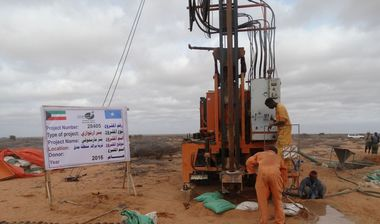 Directaid Water Projects Large artesian well - 3 - Masmoga 2