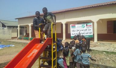 Directaid مشاريع التنمية Playgrounds for Gambia's orphans 6