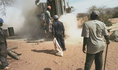 Directaid Water Projects Large Artesian Well - Kenya -Marsabit 16