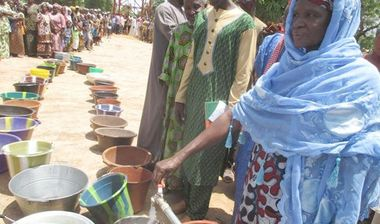 Directaid Water Projects Larg Artesian wells - Mali 6
