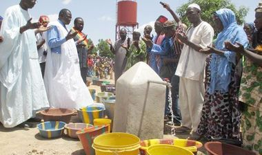 Directaid Water Projects Larg Artesian wells - Mali 1