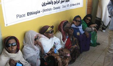Directaid Eye Projects eye camp - 24 7
