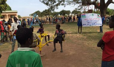 Directaid development Playgrounds for Gambia's orphans 12
