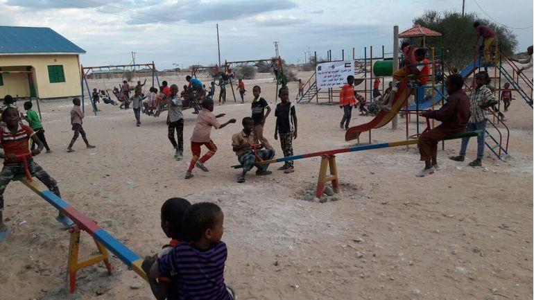 Directaid مشاريع التنمية Playgrounds for Eilwaq Orphans Center 1