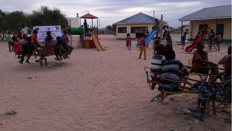 Directaid مشاريع التنمية Playgrounds for Eilwaq Orphans Center 3