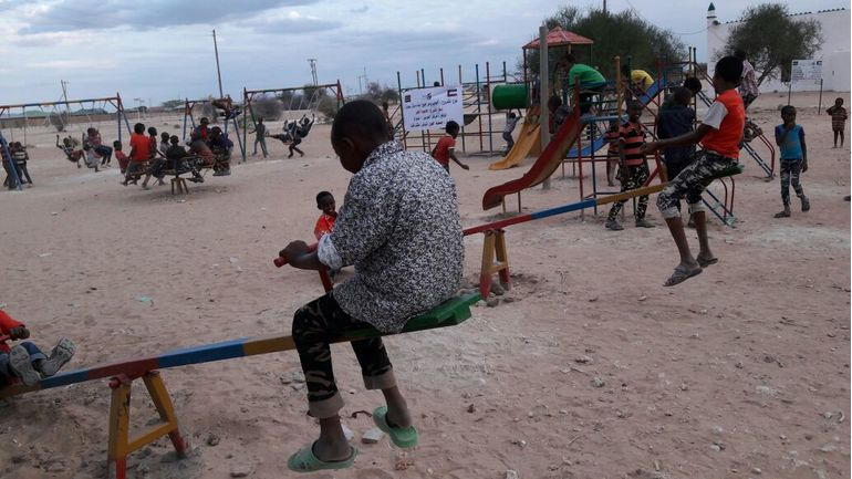 Directaid development Playgrounds for Eilwaq Orphans Center 6