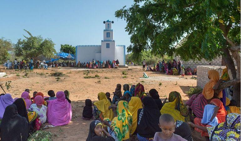 Directaid مشاريع كويت بنق Q8ping Masjid & Well - kenya 4