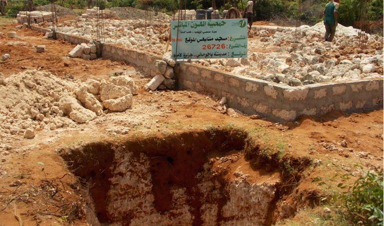Directaid مشاريع كويت بنق Q8ping Masjid & Well - kenya 2