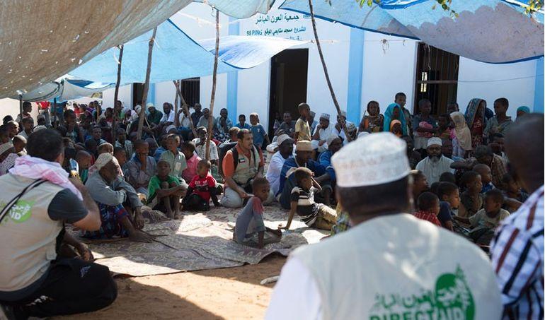 Directaid مشاريع كويت بنق Q8ping Masjid & Well - kenya 5