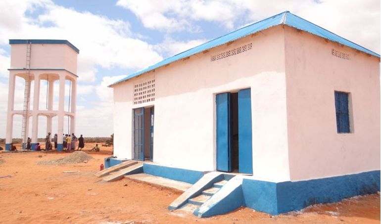 Directaid Water Projects Large artesian well - 2 2