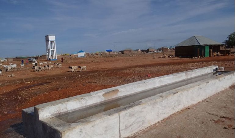 Directaid Water Projects Large artesian wells - Somalia 4