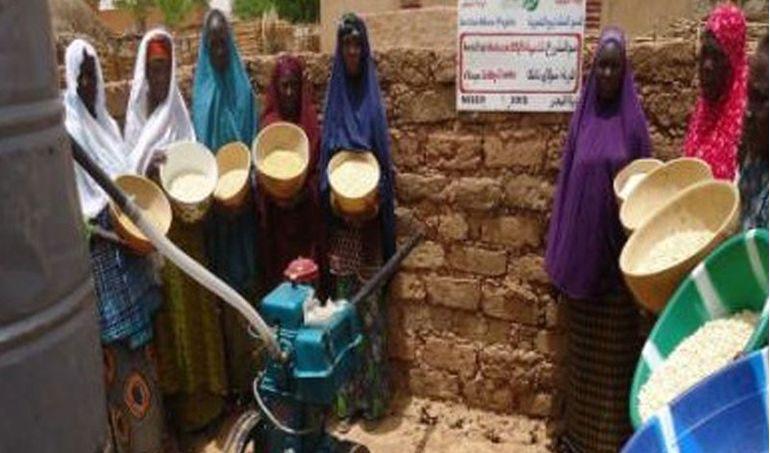 Directaid مشاريع التنمية Mill Project - Kenya 3