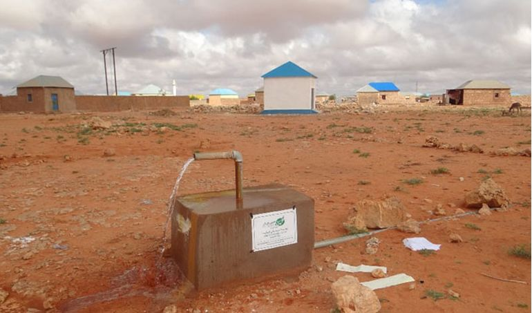Directaid Water Projects Large artesian wells - Somalia 6