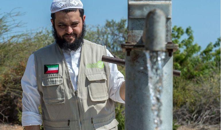 Directaid مشاريع كويت بنق Q8ping Masjid & Well - kenya 9