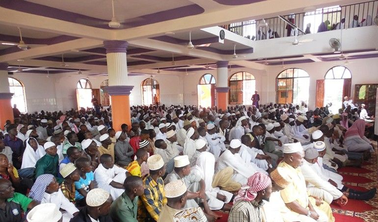 Directaid  Kigoma's masjid 1