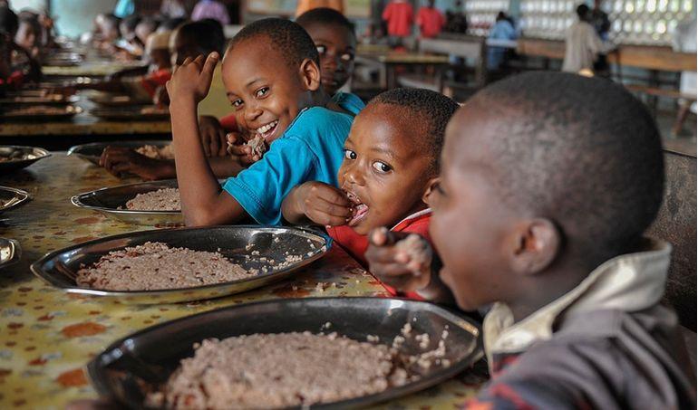 Directaid  School feeding 1
