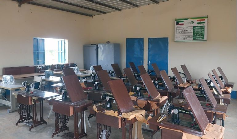 Directaid مشاريع التنمية Sewing Center - 1 1