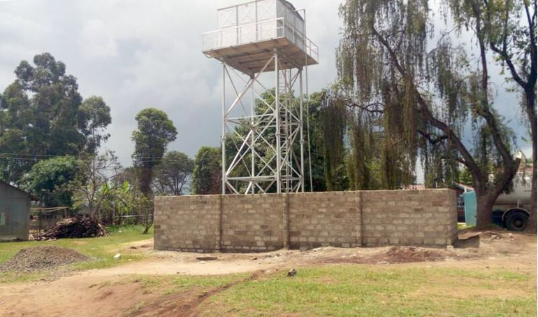 Directaid Water Projects Large Artesian Well - Kenya - Katale 6