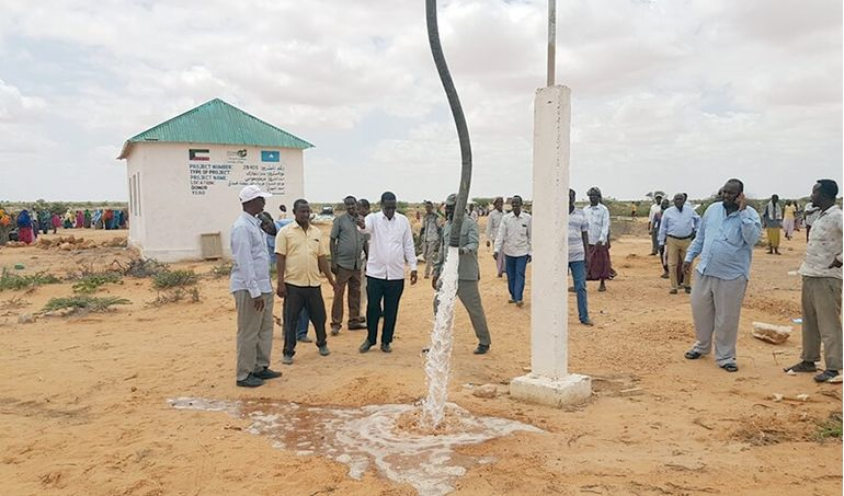 Directaid Water Projects Large artesian well - 3 - Masmoga 4