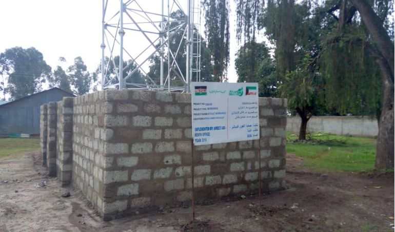 Directaid Water Projects Large Artesian Well - Kenya - Katale 7