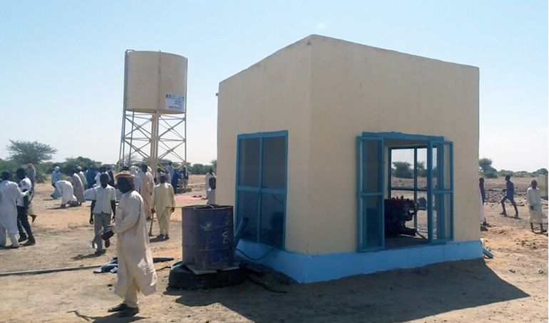 Directaid Water Projects Al-Salamah Well 6