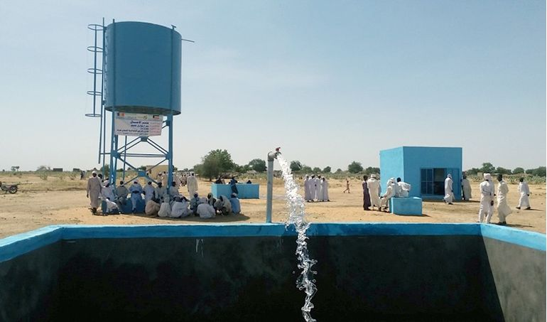 Directaid Water Projects Al-Amal Well 2
