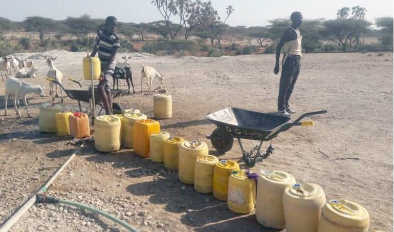 Directaid Water Projects Large Artesian Well - Kenya -Grepettla 6