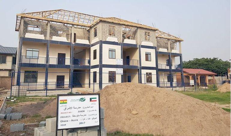 Directaid المشاريع التعليمية Ashraq Middle School 11