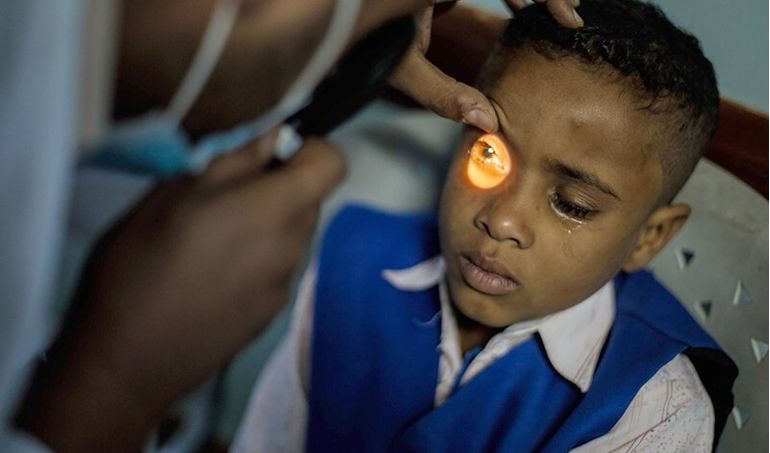 Directaid مشاريع كويت بنق Projects for Last 10 Nights - Night 29 - Eye Camps 1