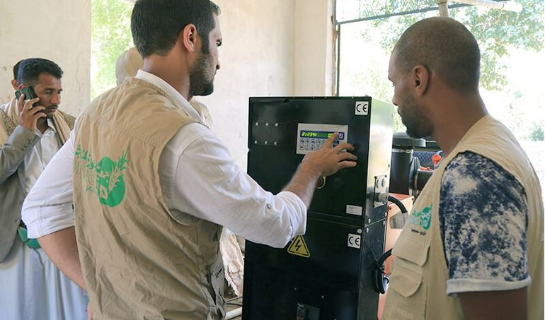 Directaid مشاريع كويت بنق Project of the last ten - night 27 - Soqya Yemen 3
