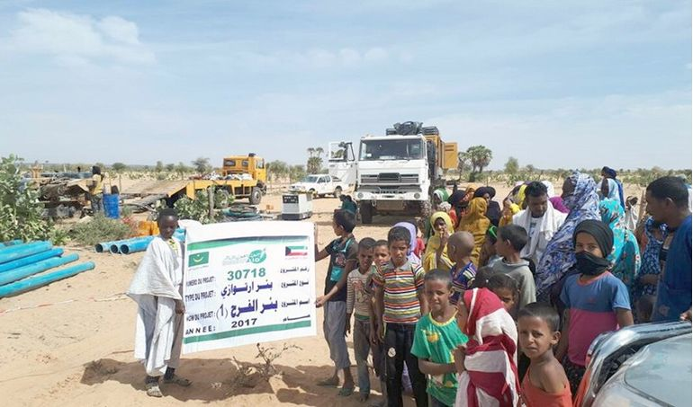 Directaid Water Projects Al-Farah Well 2
