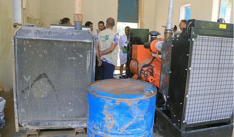 Directaid مشاريع كويت بنق Project of the last ten - night 27 - Soqya Yemen 5
