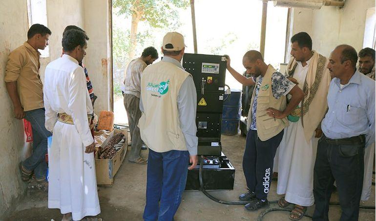 Directaid مشاريع كويت بنق Project of the last ten - night 27 - Soqya Yemen 6