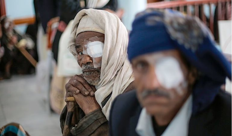 Directaid مشاريع كويت بنق Projects for Last 10 Nights - Night 29 - Eye Camps 7