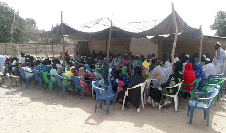 Directaid مشاريع كويت بنق Project of the last ten - night 26 - building Quran schools 5