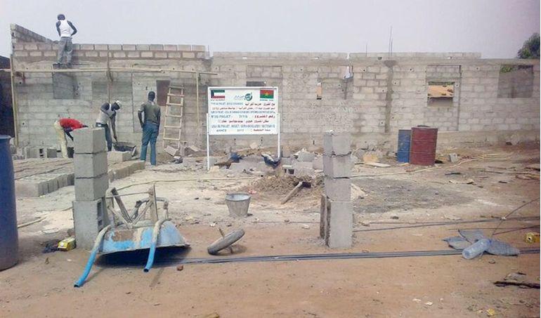 Directaid مشاريع كويت بنق Project of the last ten - night 26 - building Quran schools 14