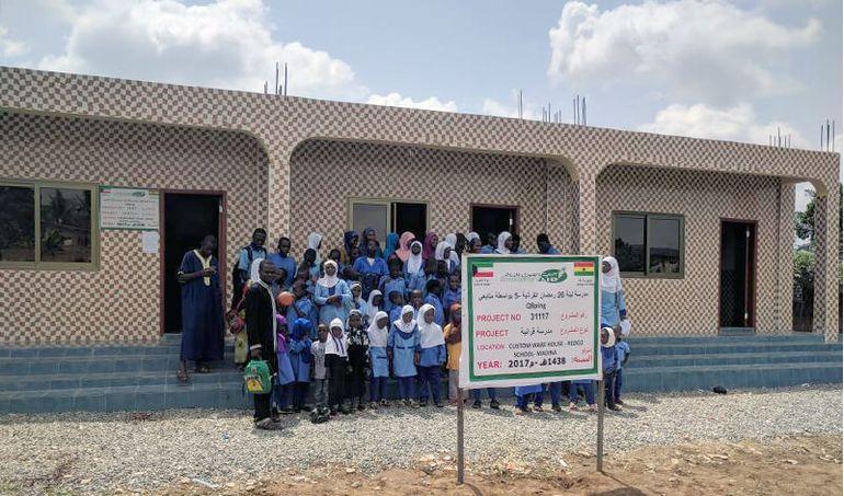 Directaid مشاريع كويت بنق Project of the last ten - night 26 - building Quran schools 15