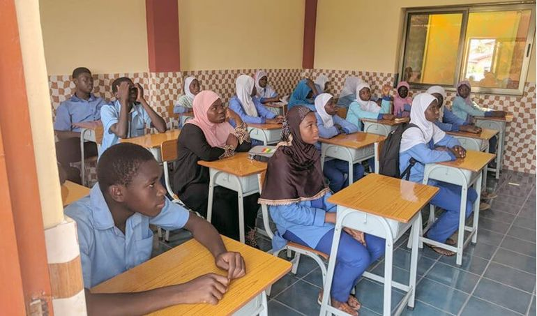 Directaid مشاريع كويت بنق Project of the last ten - night 26 - building Quran schools 19