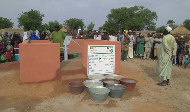 Directaid Water Projects Mali well 1 3